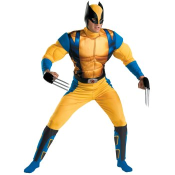 Wolverine Adult Men's costume idea