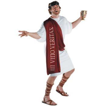 God of Wine Funny costume idea