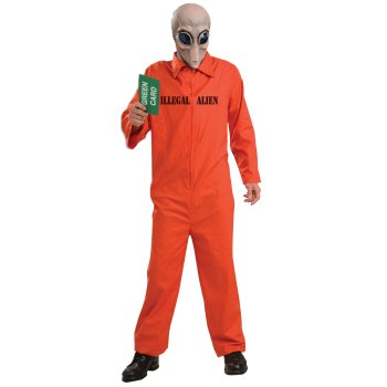 Illegal Alien Funny costume idea