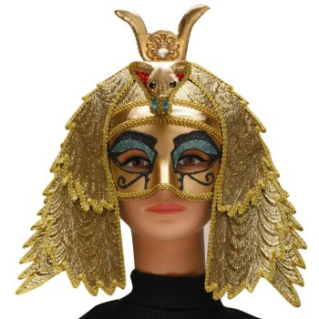 Egyptian Goddess Mask costume idea
