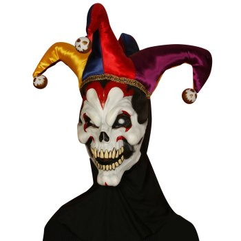 Wicked Jester Mask costume idea