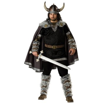 Viking Warrior Plus Size costume idea