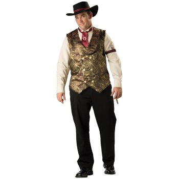 Gamblin Man Plus Size costume idea
