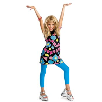 Hannah Montana Shapes Disney costume idea