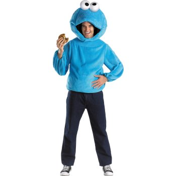 Sesame Street Cookie Monster Teen costume idea