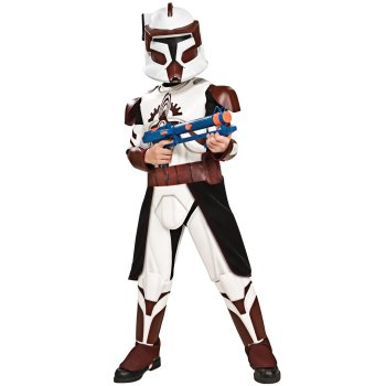 Commander Fox of Star Wars Clone Wars Childrens Movie costume idea