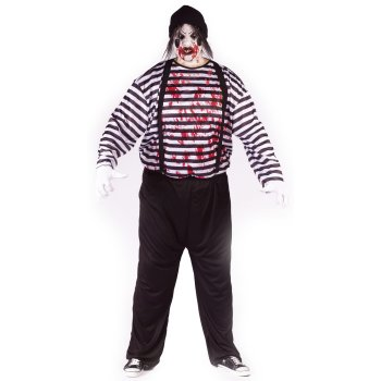Maniacal Mime Plus Size costume idea