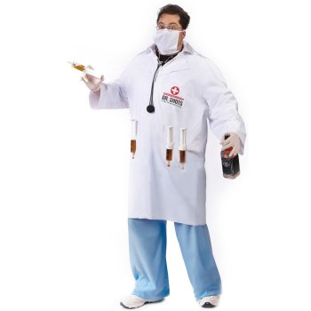 Dr. Shots Plus Size costume idea