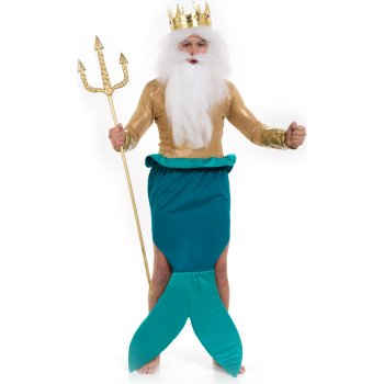 King Neptune of The Little Mermaid Movie costume idea