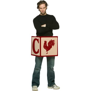 Chick Block Funny costume idea