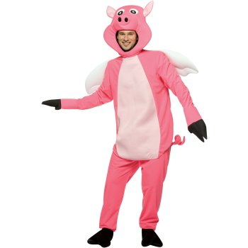 Flying Pig Funny costume idea