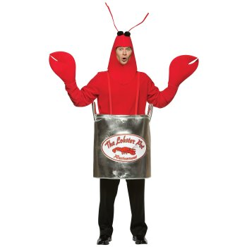 Lobster Pot Funny costume idea