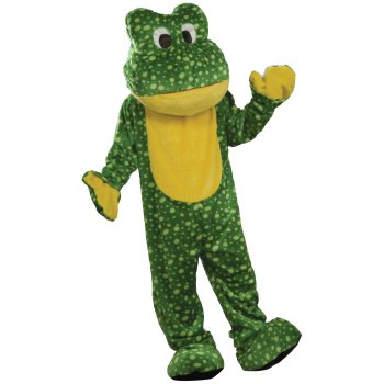 Plush Frog Mascot costume idea