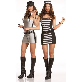 Teen Girl Jailbird costume idea
