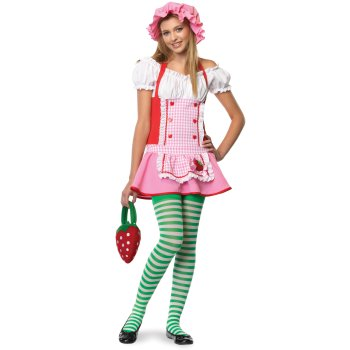 Strawberry Shortcake Teen costume idea
