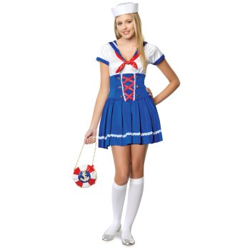 Girls Sailor Teen costume idea