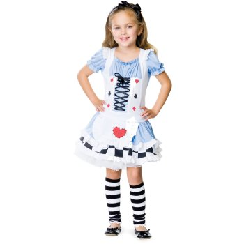 Alice in Wonderland Children's Disney costume idea