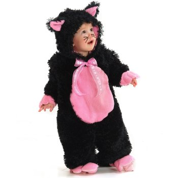 Black Cat Infant Baby costume idea