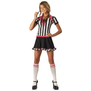 Rebellious Referee Teen costume idea
