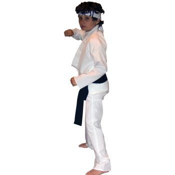 Daniel LaRusso of Karate Kid Childrens Movie costume idea