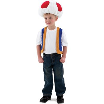 Toad of Super Mario Bros. Childrens Movie costume idea