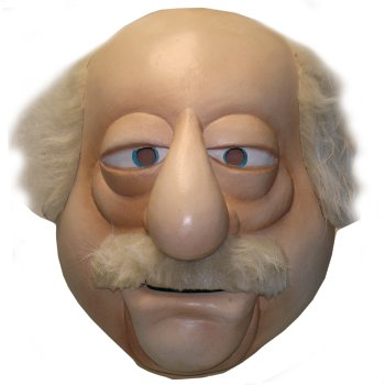 Waldorf of The Muppets Mask costume idea