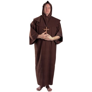 Monk Plus Size costume idea