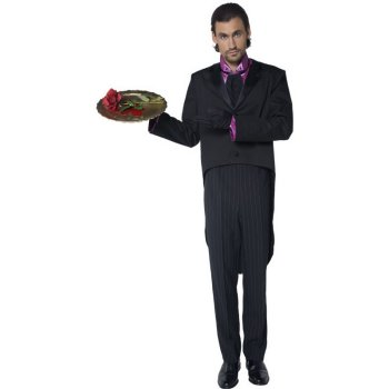 Gothic Butler Scarry costume idea