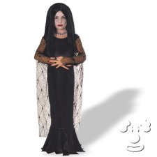 Morticia from Addams Family Kids costume idea