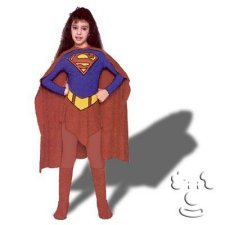 Supergirl Kids costume idea