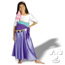 Esmeralda from Hunchback of Notre Dame Children's Disney costume idea