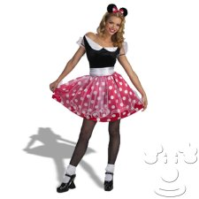 Minnie Mouse Adult Women's costume idea