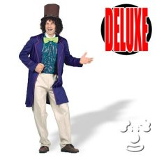 Willy Wonka Candy Man Adult Men's costume idea