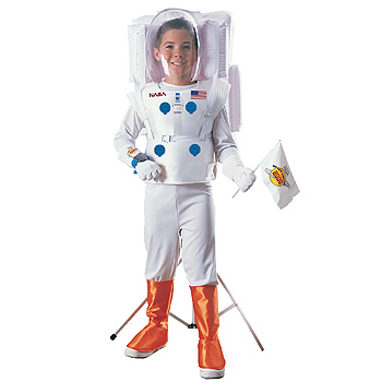 NASA Astronaut Kids costume idea