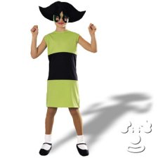 Powerpuff Girls Buttercup Kids costume idea