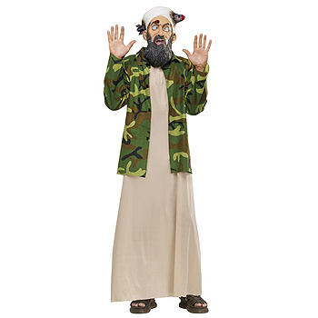 Dead Osama Bin Laden Adult Funny costume idea
