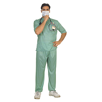 Surgeon's Scrubs Adult Classic costume idea
