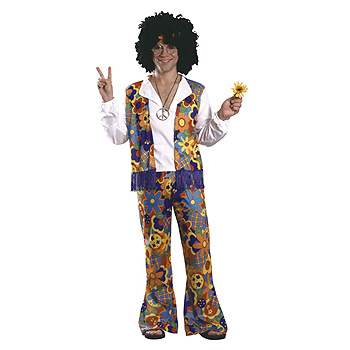 Hippie Adult Classic costume idea