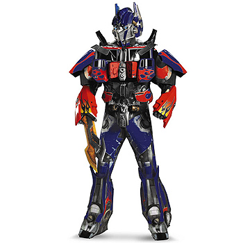 Optimus Prime Transformers Adult Theatrical costume idea