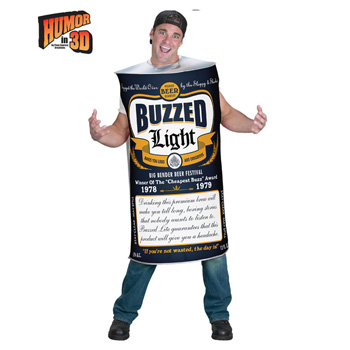 Beer Can Adult Funny costume idea