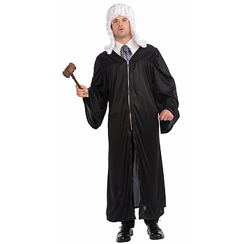 Judge Robe Adult Classic costume idea