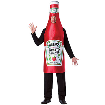 Heinz Ketchup Bottle Adult costume idea