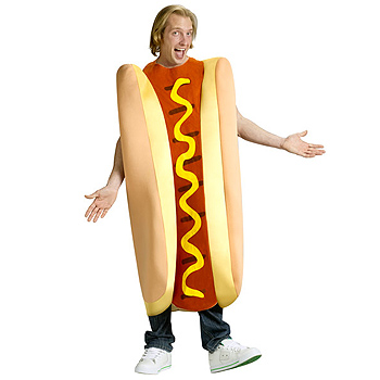 Hot Dog Adult costume idea