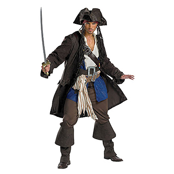 Pirate Adult Classic costume idea
