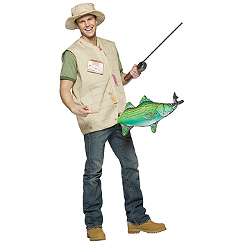 Fisherman Adult Classic costume idea
