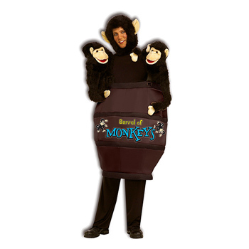 Barrel Of Monkeys costume idea