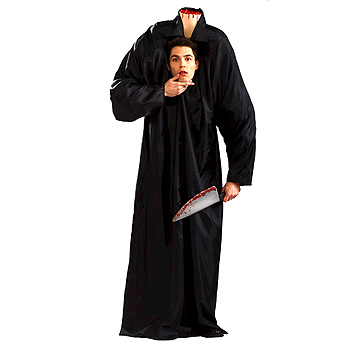 Headless Man Adult Classic costume idea