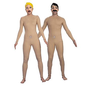 Inflatable Dolls Adult Couples costume idea