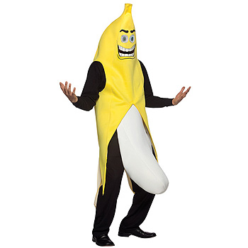 Banana Flasher Adult Funny costume idea