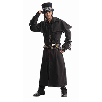 Adult Mens Duster & Cowboy Hat costume idea